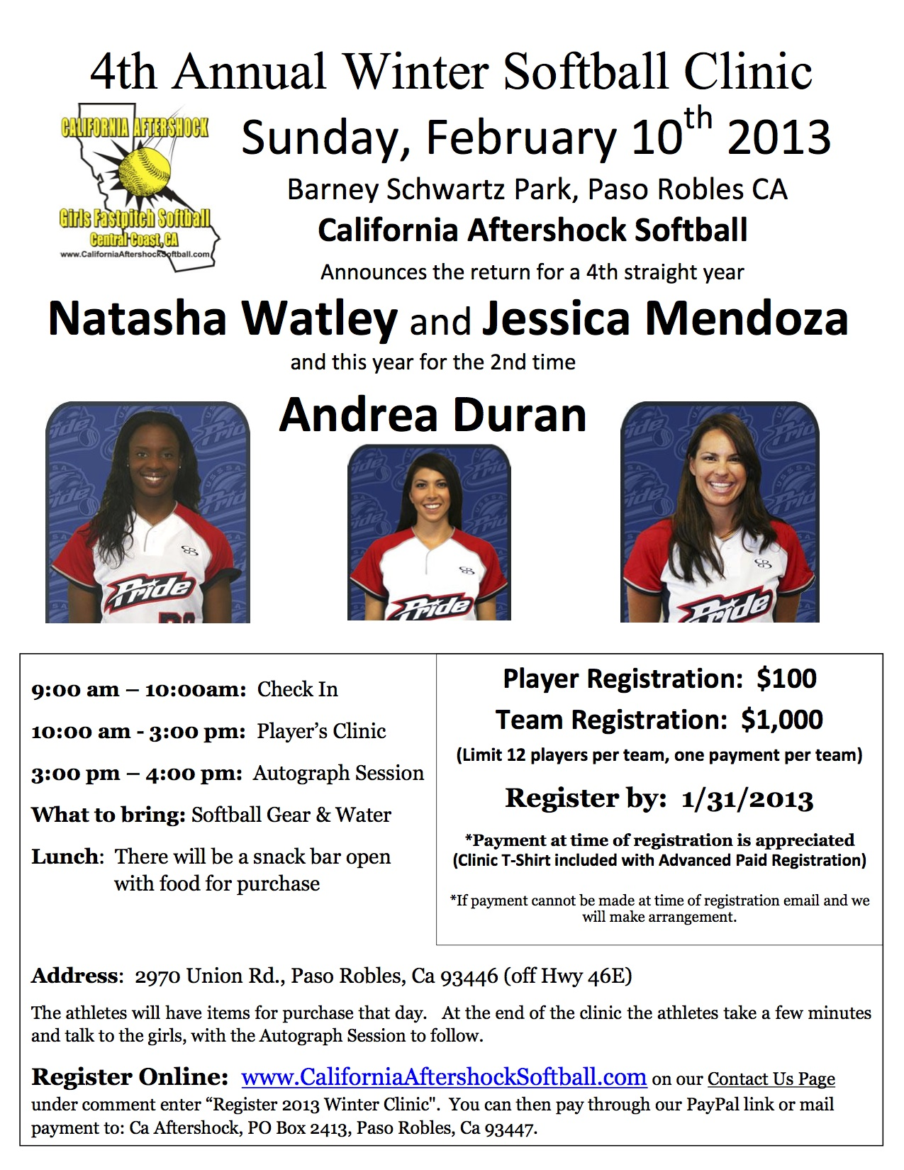 February 2013 Clinic Flyer pdf