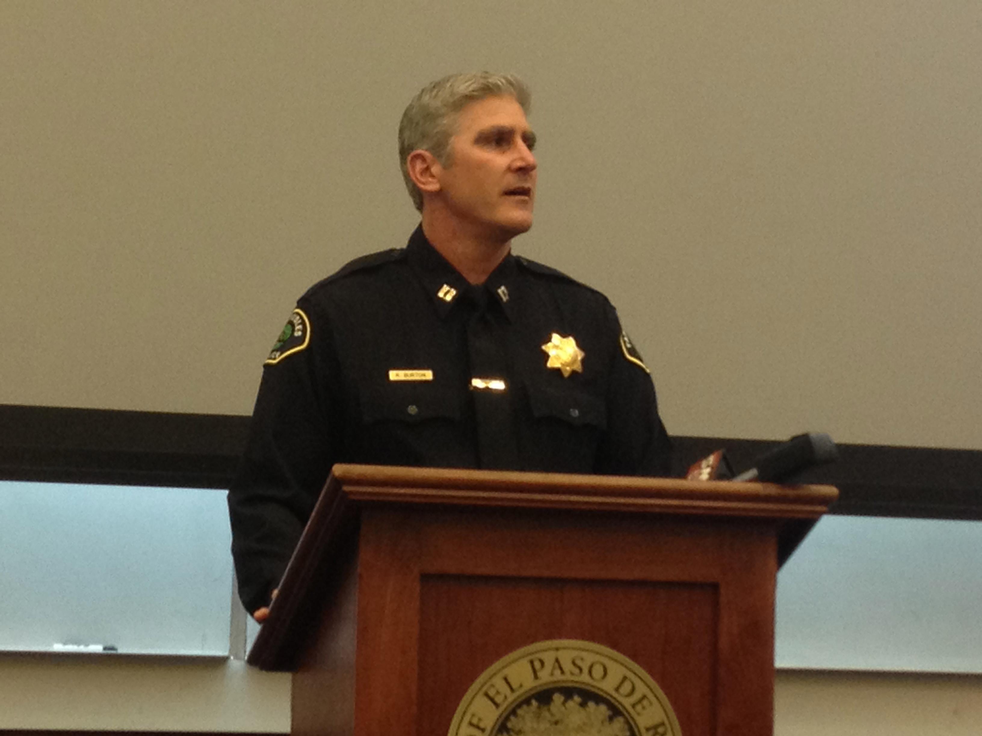 Paso Robles Police Chief Robert Burton.