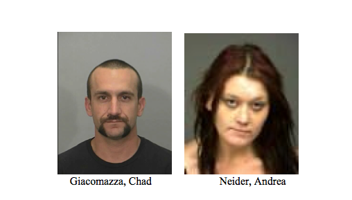 TWO ARRESTED FOR RESIDENTIAL BURGLARY