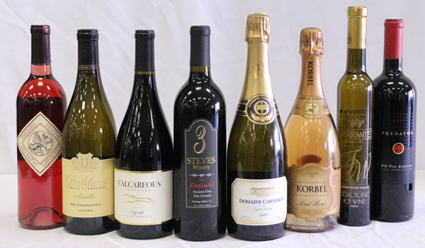 The Winners of The 2014 San Francisco Chronicle Wine Competition.