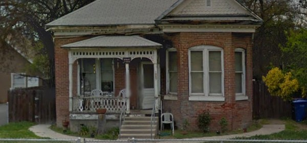 This historic home at 1527 Park Street was removed from the city's Historic Resources Inventory. Photo from Google Street View.