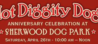 Sherwood Dog Park celebration April 26