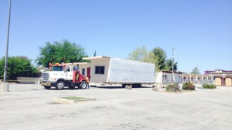 Portable classrooms at Paso Robles high school