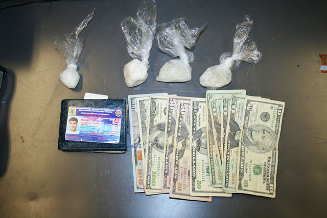 Sheriff's photo from the meth bust in Cayucos on Tuesday.