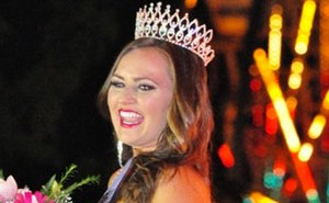 Taylor Mae Lindquist was crowned Miss Californian Mid-State Fair 2014. Photo by Meagan Friberg.