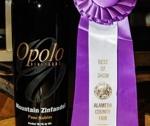 Opolo's Mountain Zinfandel wins best of show at Alameda County Fair