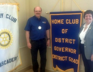 New Rotary district governor is a local