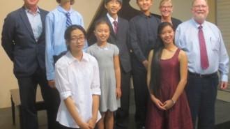 2014 Paderewski Festival, Youth Piano Competition