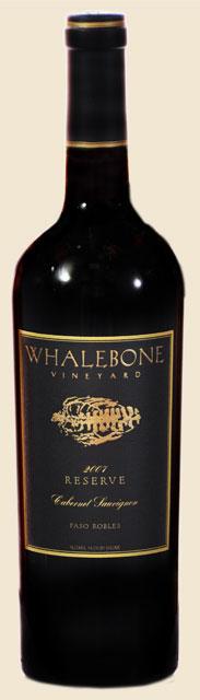Whalebone Vineyards 2010 Cabernet Sauvignon.