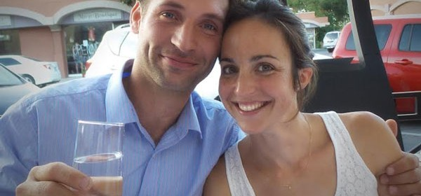 Guillaume and Solene Fabre of Clos Solene.