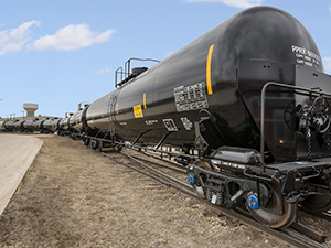 Crude oil train could pass through local cities