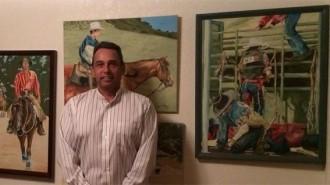 Brian Nelson Western Art show