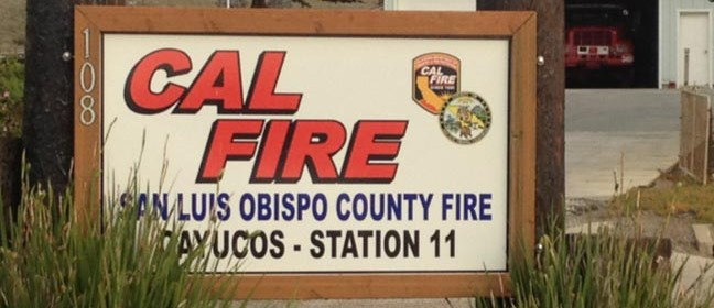 Cayucos fire station