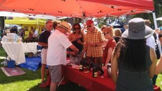 Attendees enjoy tasting wine at last year's Taste of Templeton Festival. Courtesy photo.
