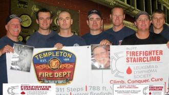 Team Templeton, pictured L to R: Captain Kurt Pennington, Firefighter Haustin Morrison, Engineer Jeff Tomlinson, Engineer Phillip Goldbloom, Firefighter Jeff Cannon, Captain Brandon Wall and Firefighter Craig Pennington