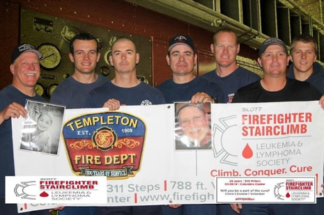 Team Templeton, pictured L to R: Captain Kurt Pennington, Firefighter Haustin Morrison, Engineer Jeff Tomlinson, Engineer Phillip Goldbloom, Firefighter Jeff Cannon, Captain Brandon Wall and Firefighter Craig Pennington
