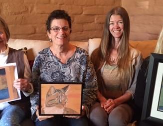 Pet portrait class brings healing to cancer patients and survivors