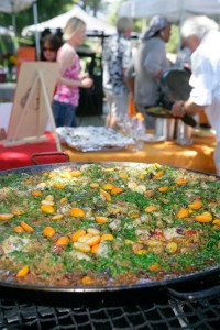 Pinot and paella 2