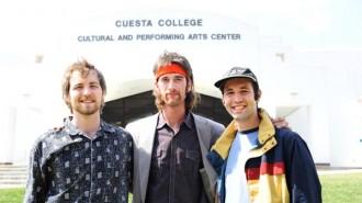 Brothers Josh and Sean Collins, and Keegan Harshman.