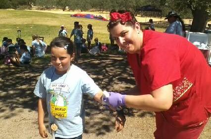 JOliveira and MBean Girl Scout Camp