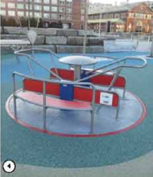 Proposed merry-go-round for new play area.