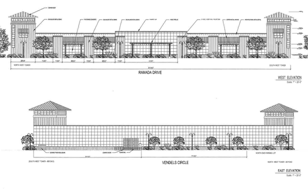 Proposed warehouse
