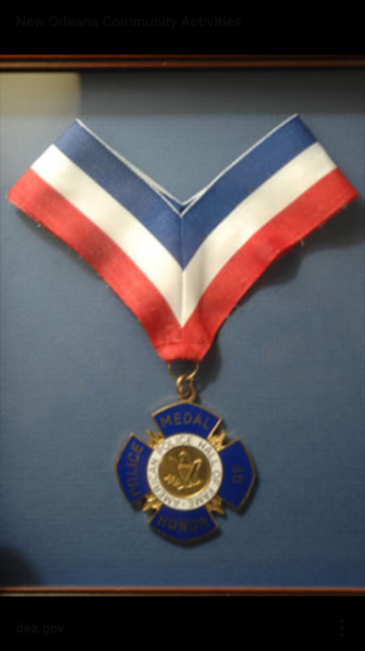 Stolen Medal of Honor