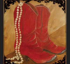 "The theme of this year's dinner is, ""Boots and Pearls."""
