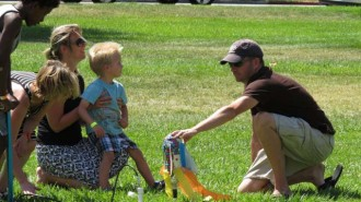 Paso Robles City Library, Rocket Launch, Summer Reading Program, Stan Tharp