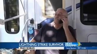 Paso Robles man struck by lightning