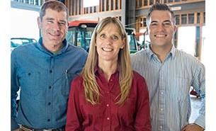 Dean Harrell, Lisa Hurdle, and Randy Heinzen. Courtesy photo.