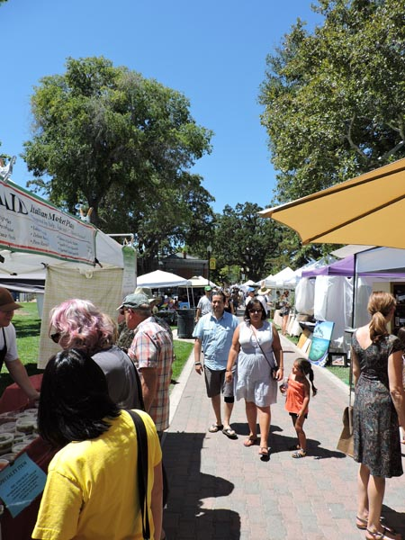Hundreds of attendees enjoyed the festival in downtown city park on Saturday.