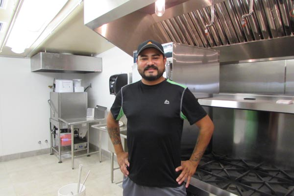 Chef Alfredo Martinez. Photos by Jackie Iddings.