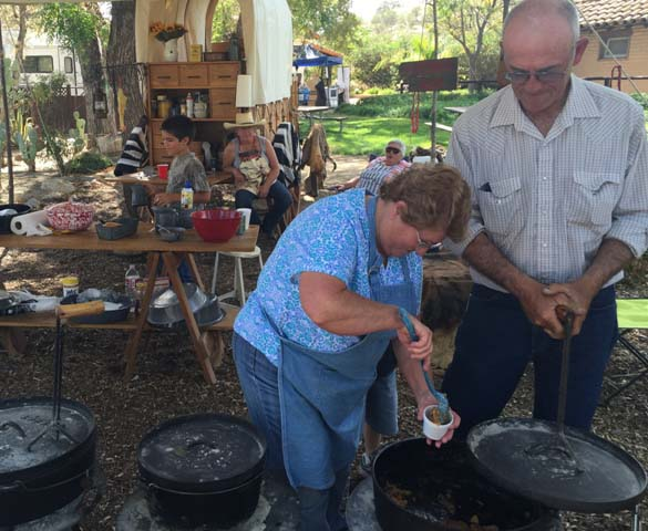 Rios-Caledonia Adobe, Caledonia Days, Dutch Oven Cook-off, Meagan Friberg