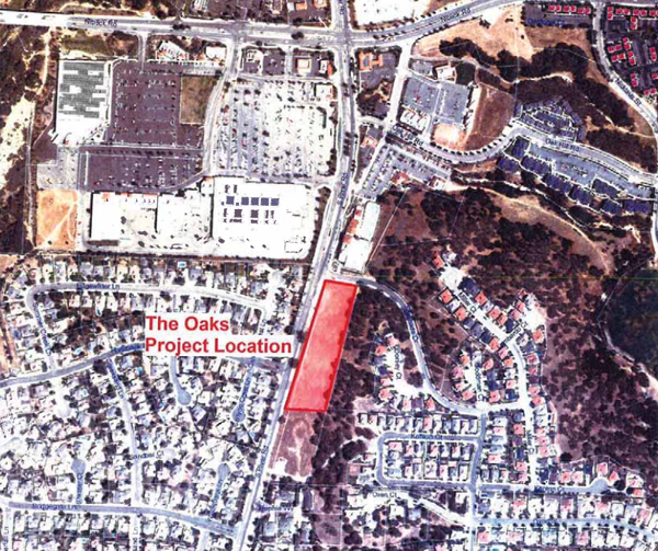 Proposed lot assisted living paso robles