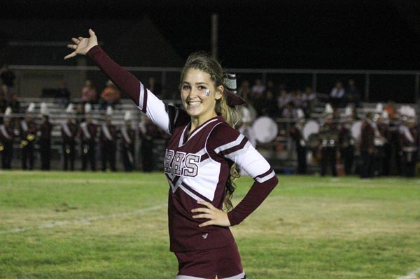 Riley is a Paso Robles High School graduate and former varsity cheer captain. She now volunteers her time teaching cheer to youth.