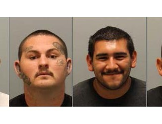 Four local men arrested for robbery, drug charges