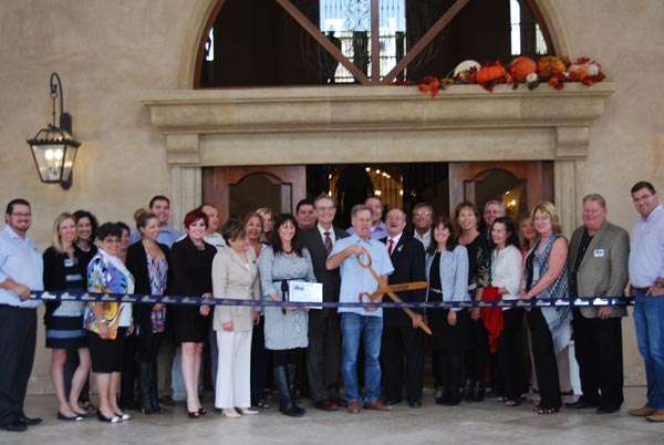 Allegretto ribbon cutting