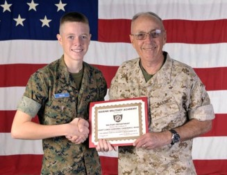 Paso Robles native named 'Cadet of the Month'