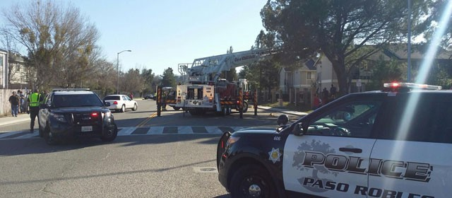 Fire at Dry Creek Apartments