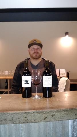 "Bret Urness, winemaker and ""jack of all trades"" for his fledgling label, Levo, has opened his tasting room in Tin City, at Marquita Crossing, in Paso Robles."
