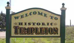 Templeton welcome