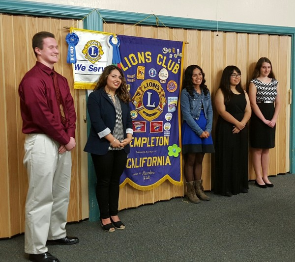 Lions Club Speech Winners