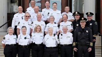 Members of the Paso Robles Police Department's Community Volunteer Patrol Program.