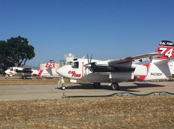 CAL FIRE Aircraft