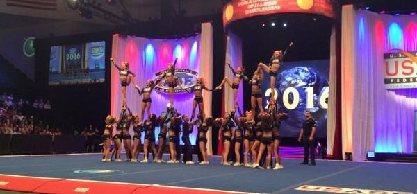 Jessica Bartlett The Cheerleading Worlds 2016