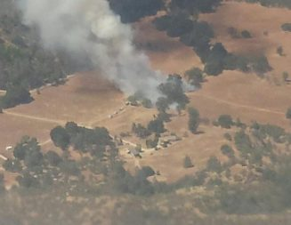 Two small fires contained in North County