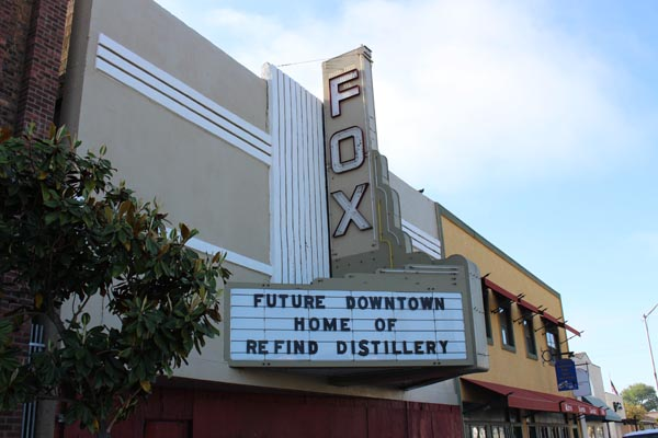 Fox theatre paso robles Marquee