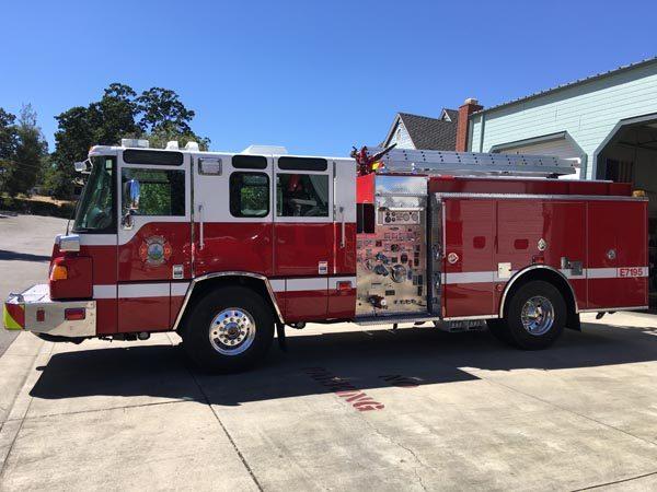 Fire truck templeton
