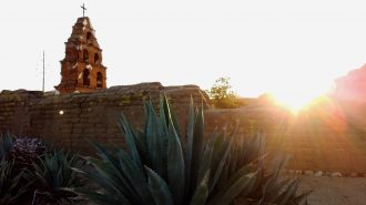 Mission San Miguel by Eric Foos